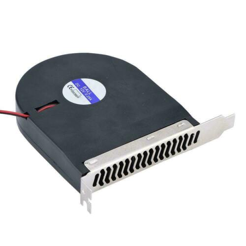 DC 12V 4 Pin System PCI Slot Blower PC Computer Cooling Fan CPU Cooler 2500RPM