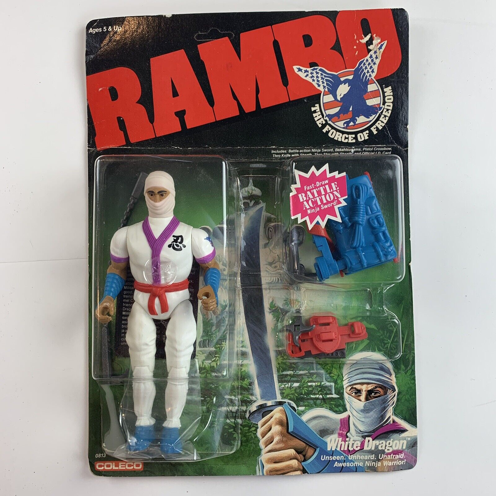 RAMBO The Force  of gratuitodom bianca Dragon cifra nuovo UNOPENED scatola  da non perdere!