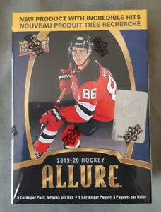 2019-20-Hockey-ALLURE-Upper-Deck-NEW-Factory-Sealed-Box-30-Cards-Total