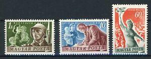 Ungarn MiNr. 1139-41 postfrisch MNH (O584