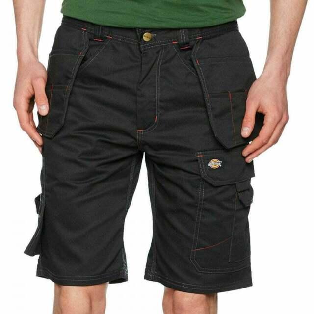 Dickies Pro Work Shorts Mens Premium Multi-Pocket Cargo Workwear Shorts DP1006