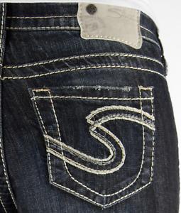 Størrelse Jeans Kvinders 20 Rise High 18 Dark Natsuki Nwd Cuffed Plus Sølv Cropped zzq5r6