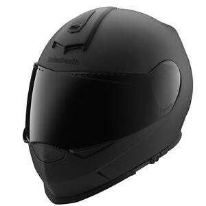 Schuberth-S2-Sport-Volles-Gesicht-Motorrad-Motorrad-Helm-Mattschwarz