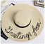 Summer-Fashionable-Women-039-s-Cursive-Embroidery-Adjustable-Beach-Floppy-Sun-Hat thumbnail 13