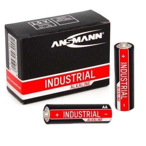 50x Ansmann Industrial Aa Mignon Pilas Alcalinas MN1500 LR06 1,5V Nuevos