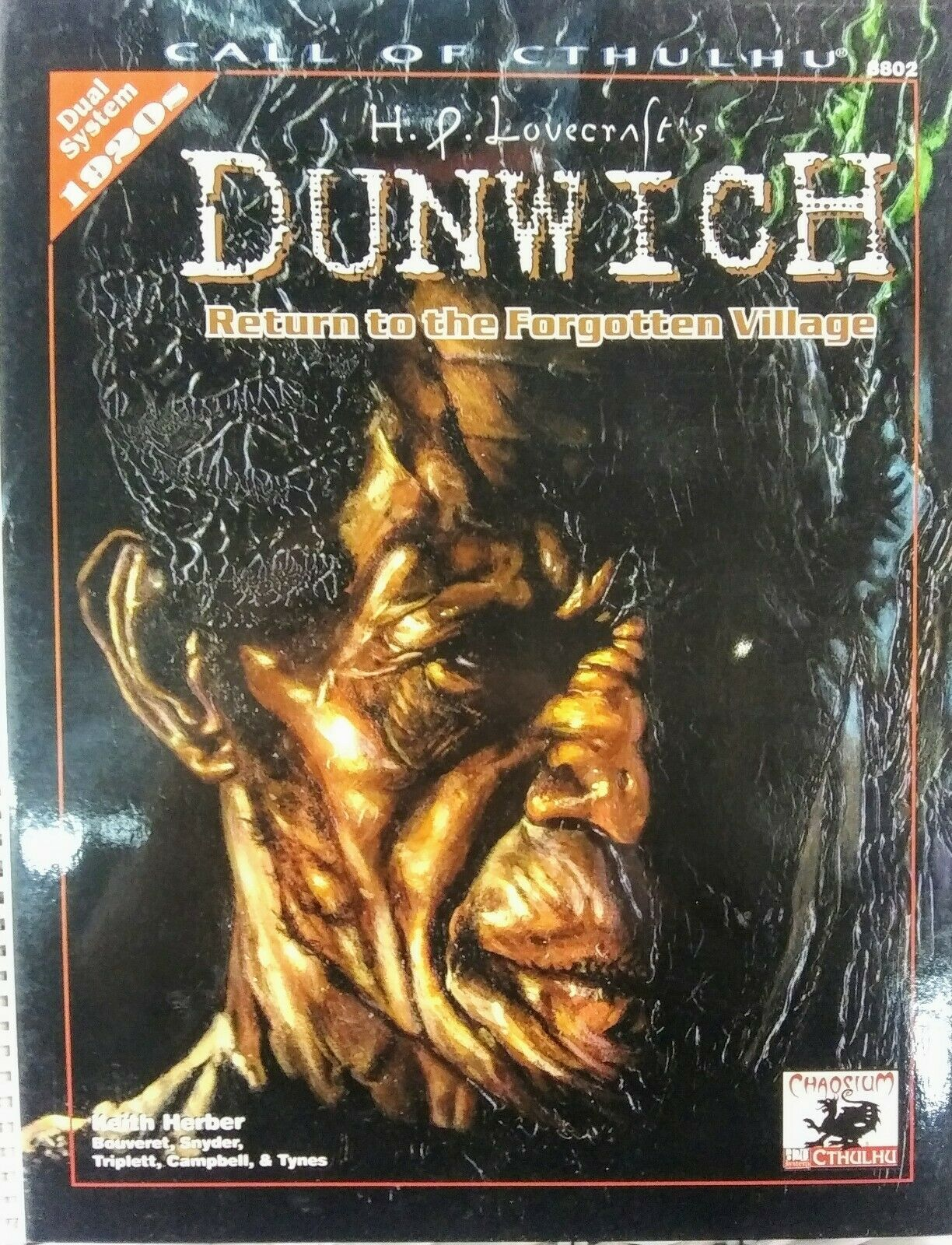 Dunwich  Return to the Forgotten Village (Call of Cthulhu) - RPG