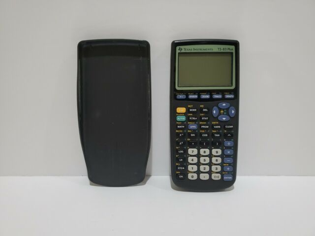 Texas Instruments TI-83 Plus Graphing Calculator For Parts/Repair