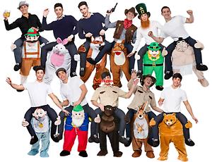 Carry Me Bavarian Beer Mascot Piggyback Costume Ride On Dress Halloween Adults