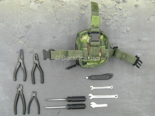 Utility Pouch w//Tool Set 1//6 Scale Toy US Army EOD