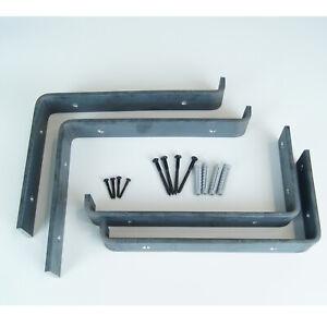 Scaffold-Board-Shelf-Brackets-Rustic-Industrial-Bracket-x-2-Heavy-Duty-Raw-Black