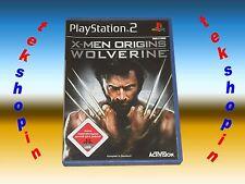 PS2 - X-Men Origins Wolverine ** Playstation 2 Spiel USK 18