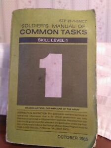 STP 21-1-SMCT Soldier's Manual of Common Tasks Warrior ...