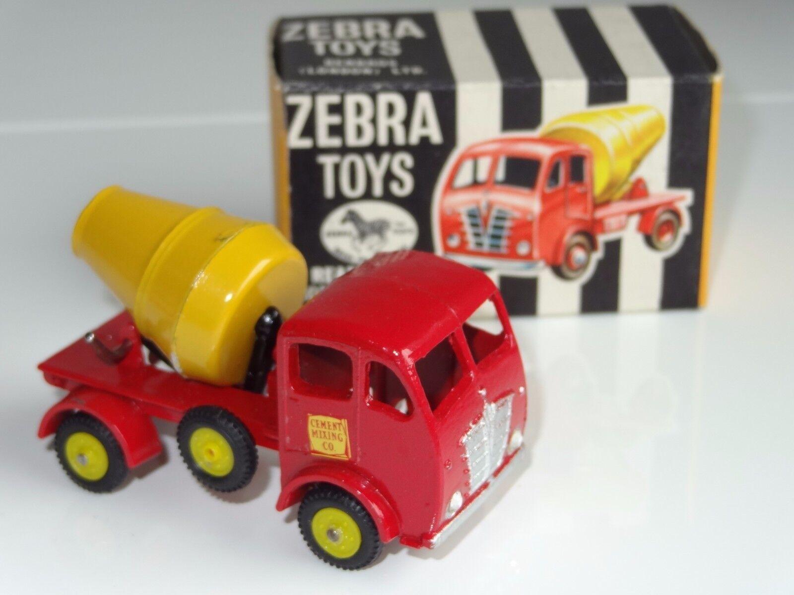 (S) BENBROS Zebra toys Foden concete Mélangeur - 16