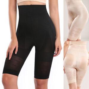 Women-Full-Body-Shaper-High-Waist-Control-Thigh-Bodysuits-Shapewear-Yoga-Girdle