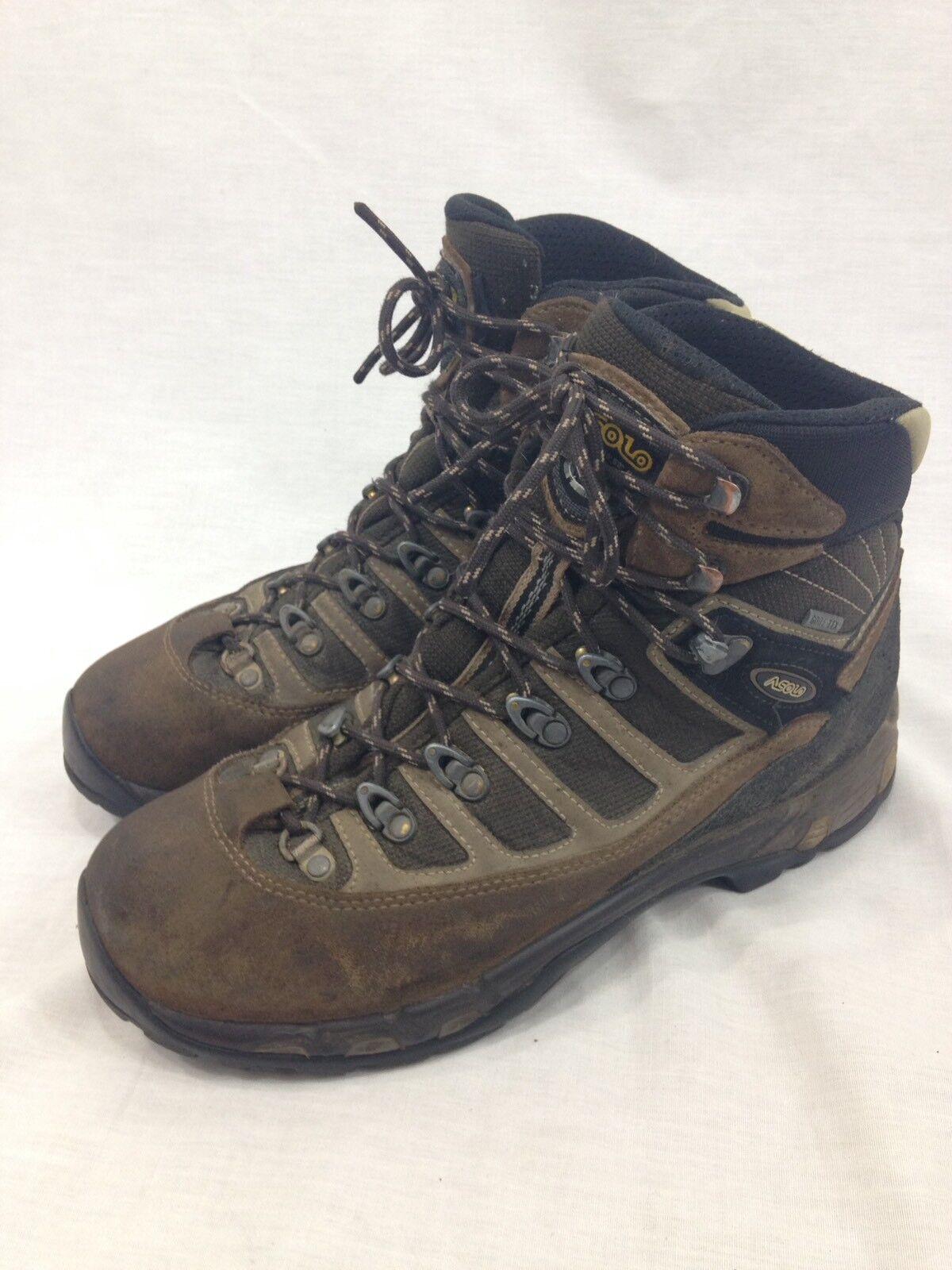 Asolo botas Senderismo Zapatos para hombre 9.5 Marrón  con Cordones Alto Top Trail Gore-Tex  bajo precio