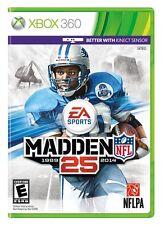 NEW Madden NFL 25 (Microsoft Xbox 360, 2013) 2014 NTSC