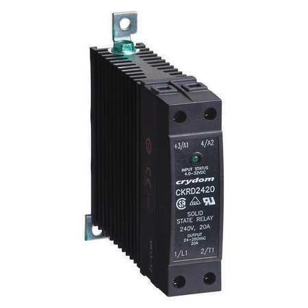 CRYDOM CKRD4820 Solid State Relay,4 to 32VDC,20A