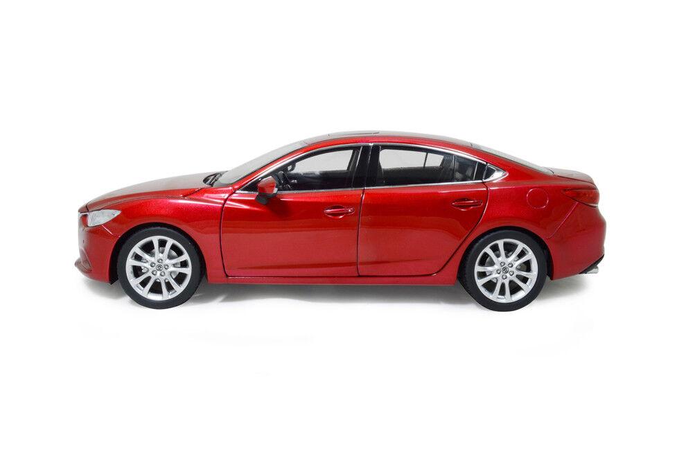 1 18 1 18 Scale Mazda 6 Atenza 2014 rojo Diecast Model Car Paudimodel