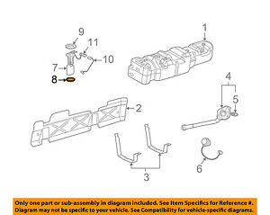 image is loading gm-oem-fuel-pump-assembly-seal-22682111