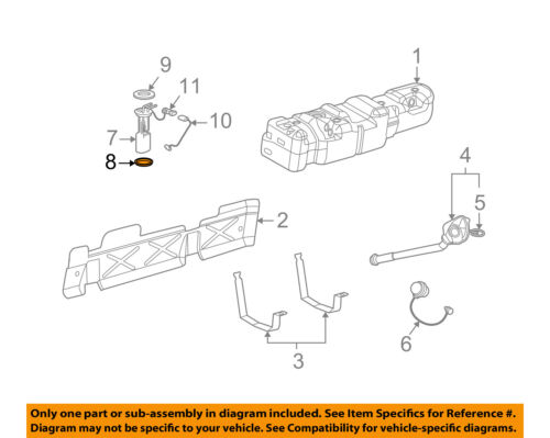 GM OEM-Fuel Pump Assembly Seal 22682111