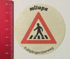 Aufkleber/Sticker: Milupa Sicherheit Für Ihr Kind - Fußgängerüberweg (280516132)