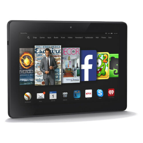 1 of 1 - Amazon Kindle Fire HD 7 (2nd Generation) 16GB, Wi-Fi, 7in - Black VGC