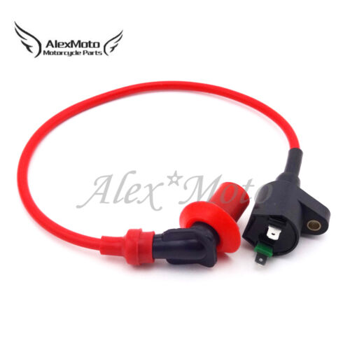 Red Scooter Racing Ignition Coil For GY6 50 125 150cc Engine Chinese Moped ATV