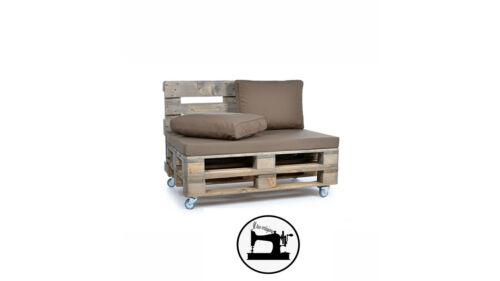 Cuscino Per Divano Pallet Con Seduta e Schienale, Cuscino Imbottito In Cotone Per il giardino