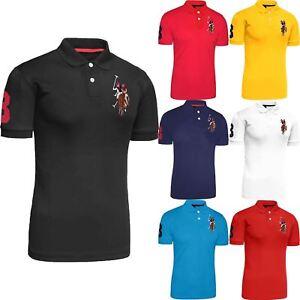 Mens Original US Polo Assn T-shirt Shirt Coloured Pony Top Short ... 1a7e5dacb5dd8