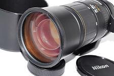 """Near Mint"" Sigma 135-400mm 1:4.5-5.6 APO D Zoom w/Hood,tripod ring For Nikon **"