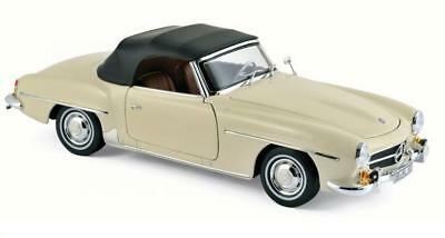 1/18 Norev 1957 Mercedes Benz 190 Sl Beige Diecast Model Car Beige 183539 Durable Service Toys & Hobbies Diecast & Toy Vehicles