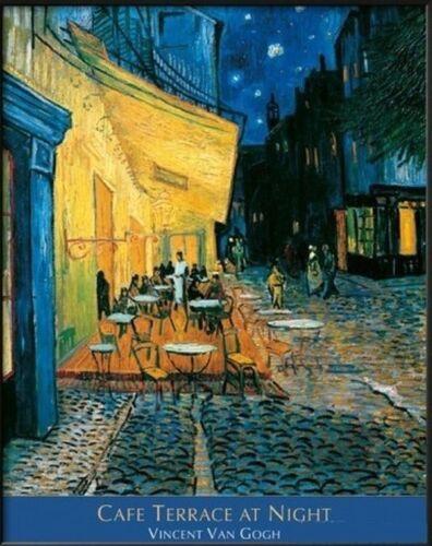 "VAN GOGH/'S CAFE TERRACE AT NIGHT ART POSTER 24/""X 36/"""