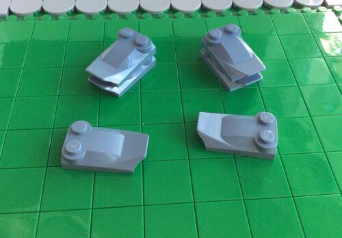 6 PCs. 47456 33 # LEGO Stone Spoiler 2x3 x0.66 Blue SandBlue 7283 7252 7258