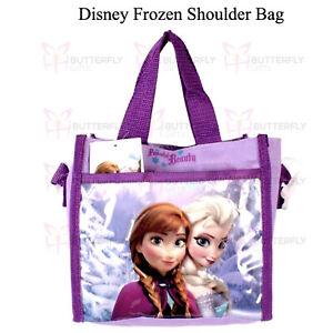 Bolsa-para-Chicas-de-Disney-Frozen-Anna-y-Elsa-Bolso-de-Hombro-con-Correa-para-el-Hombro