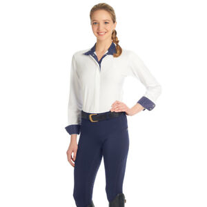 Ovation Ladies AeroWick Silicone Full Seat Tight Different Sizes Navy