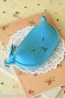 Cute Cat Felt Coin Bag kawaii adorable kitty clutch wallet makeup holder purse