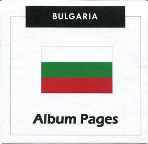 Bulgaria-CD-ROM-Stamp-Album-1879-2017-Album-Pages-Classic-Stamps-Illustrated