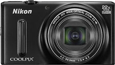 Nikon Coolpix Digital Camera WiFi NIKKOR 1080p video