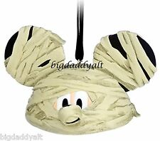 New Disney Parks Halloween Mummy Mickey Ear Hat Christmas Ornament Limit Edition