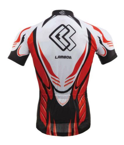 Short Sleeves Jersey CM1301RSJ LAMBDA Cycling Bike Clothing