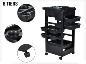 Beauty-Salon-Spa-Hairdressing-Tools-Storage-Rolling-Trolley-Caster-5-drawers