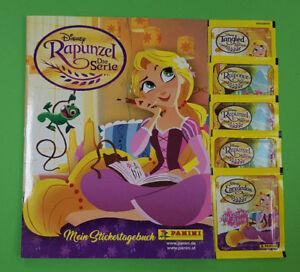 Panini Rapunzel la serie sticker vacío álbum + 5 bolsas de nuevo  </span>