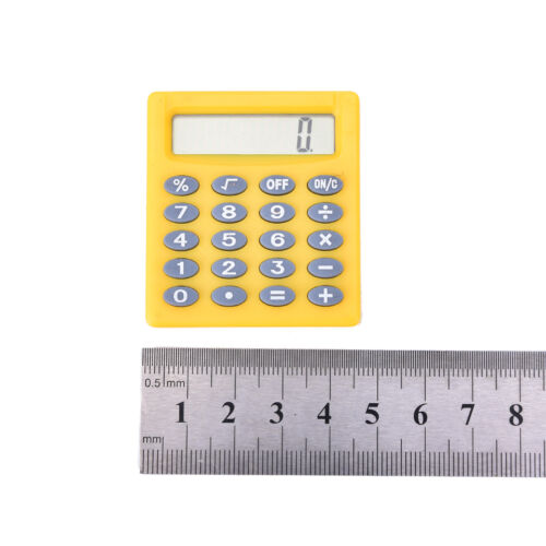 Student kleine Mini Electronic Calculator Candy Farbe Berechnung Büro YEG