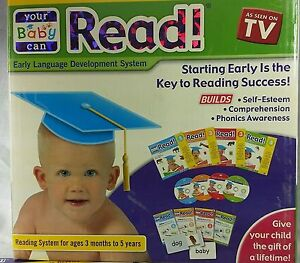 """Your Baby Can Read 4-level in high demand """"Retail kit Box""""(limited Sale price)"""
