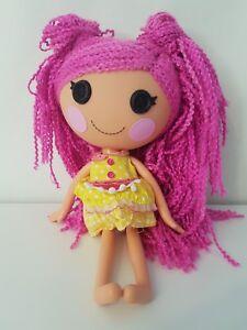 Lalaloopsy Crumbs Sucre Cookie Loopi Fil Laine Cheveux Poupée Grande Taille Standard-afficher Le Titre D'origine Prix De Rue