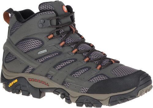 chaussures Trekking Alpinismo Escursionismo MERRELL MOAB 2 MID GTX Beluga