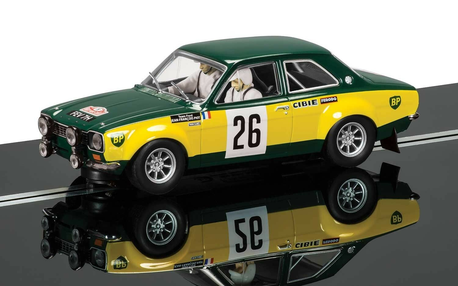 Scalextric FordEscort Mk1 Equipo Ford C3635