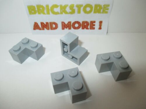 Choose Quantity x2 x8 Lego Brick Brique Corner 2x2 2357 Light Gray