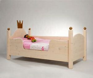 kojenbett prinzessin bett lotta als kinderbett ebay. Black Bedroom Furniture Sets. Home Design Ideas