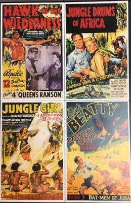 Darkest Africa Episode 4 Clyde Beatty Lobby Card Movie Poster